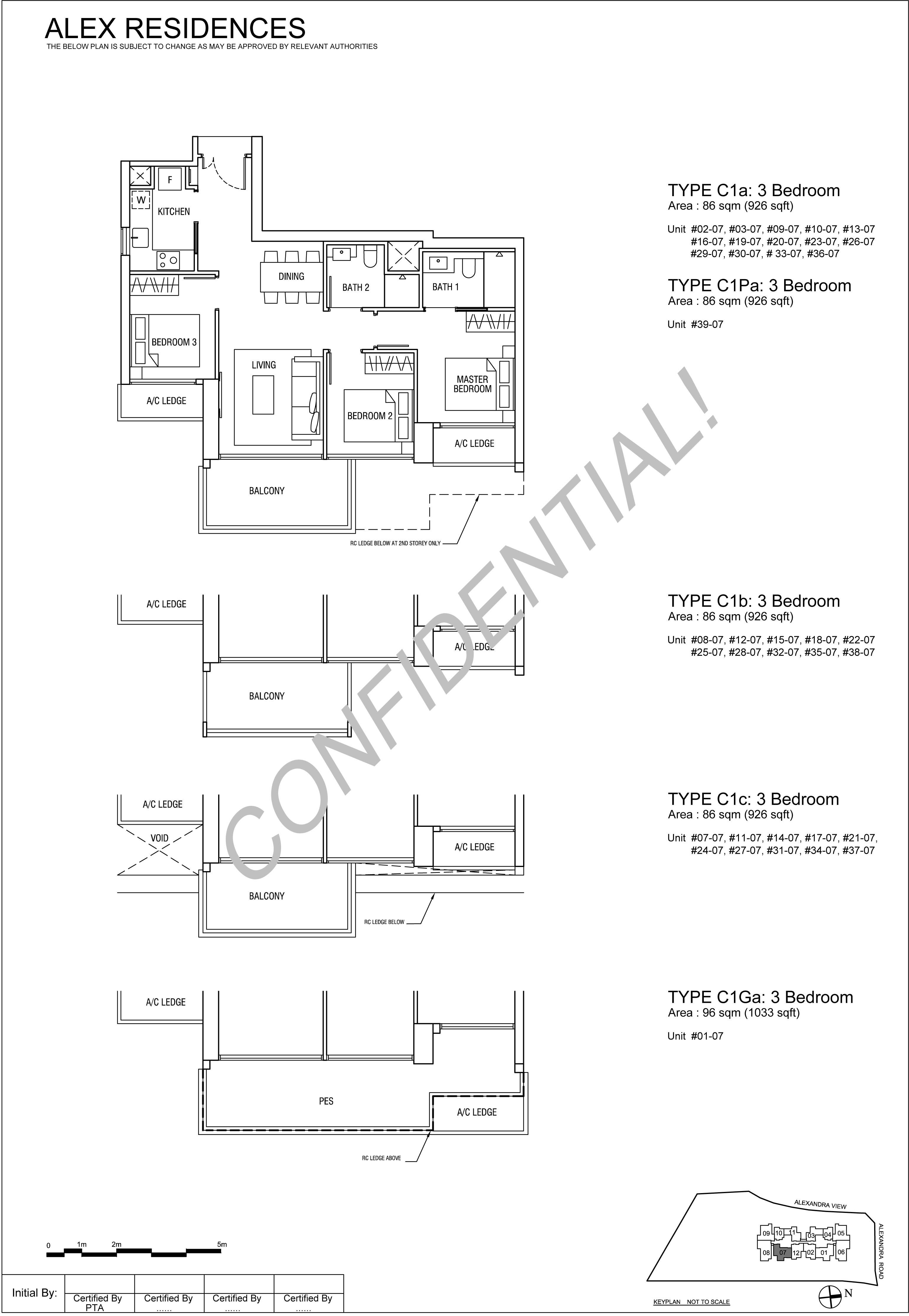 TYPE-C1-3-Bedroom