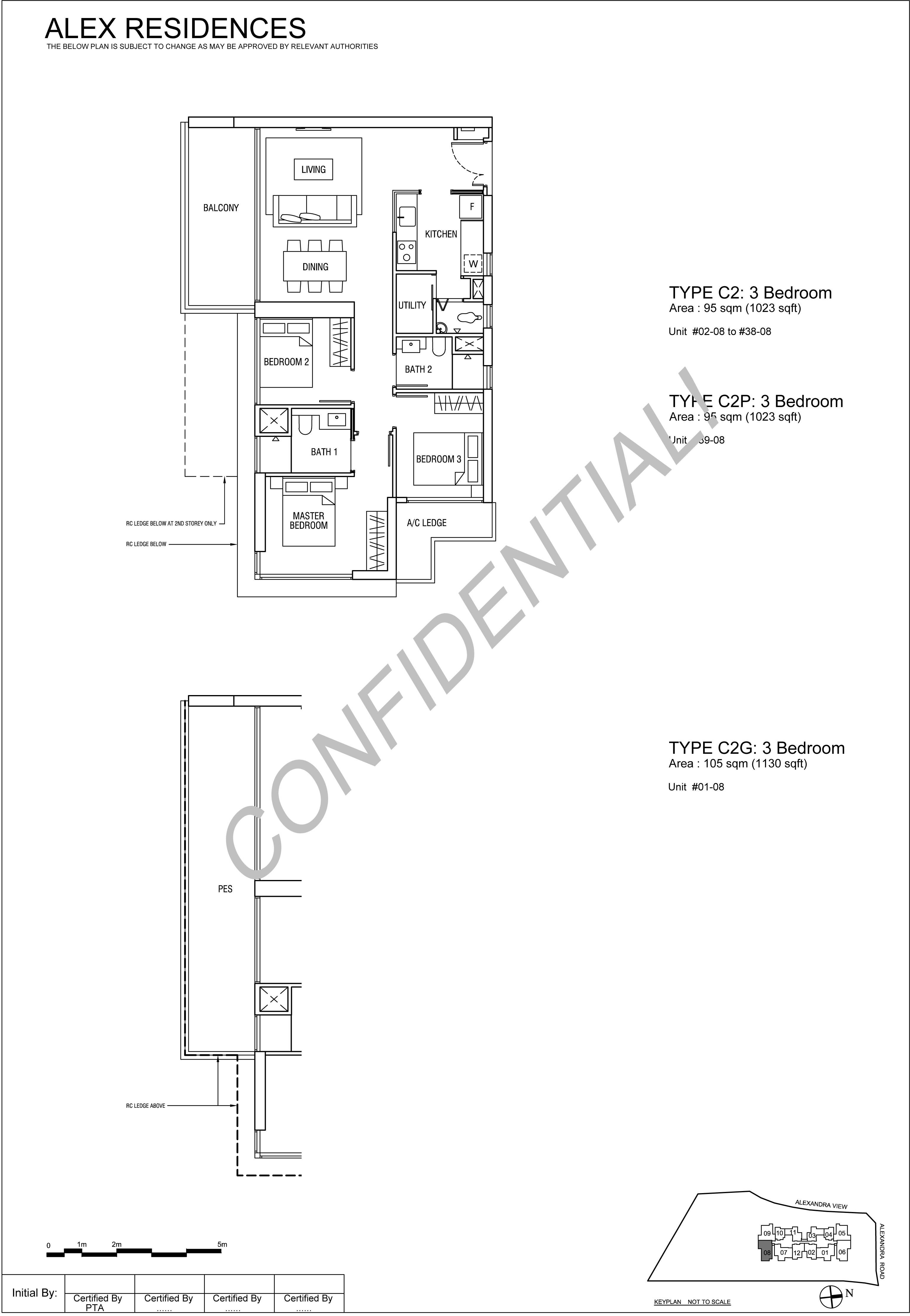 TYPE-C2-3-Bedroom