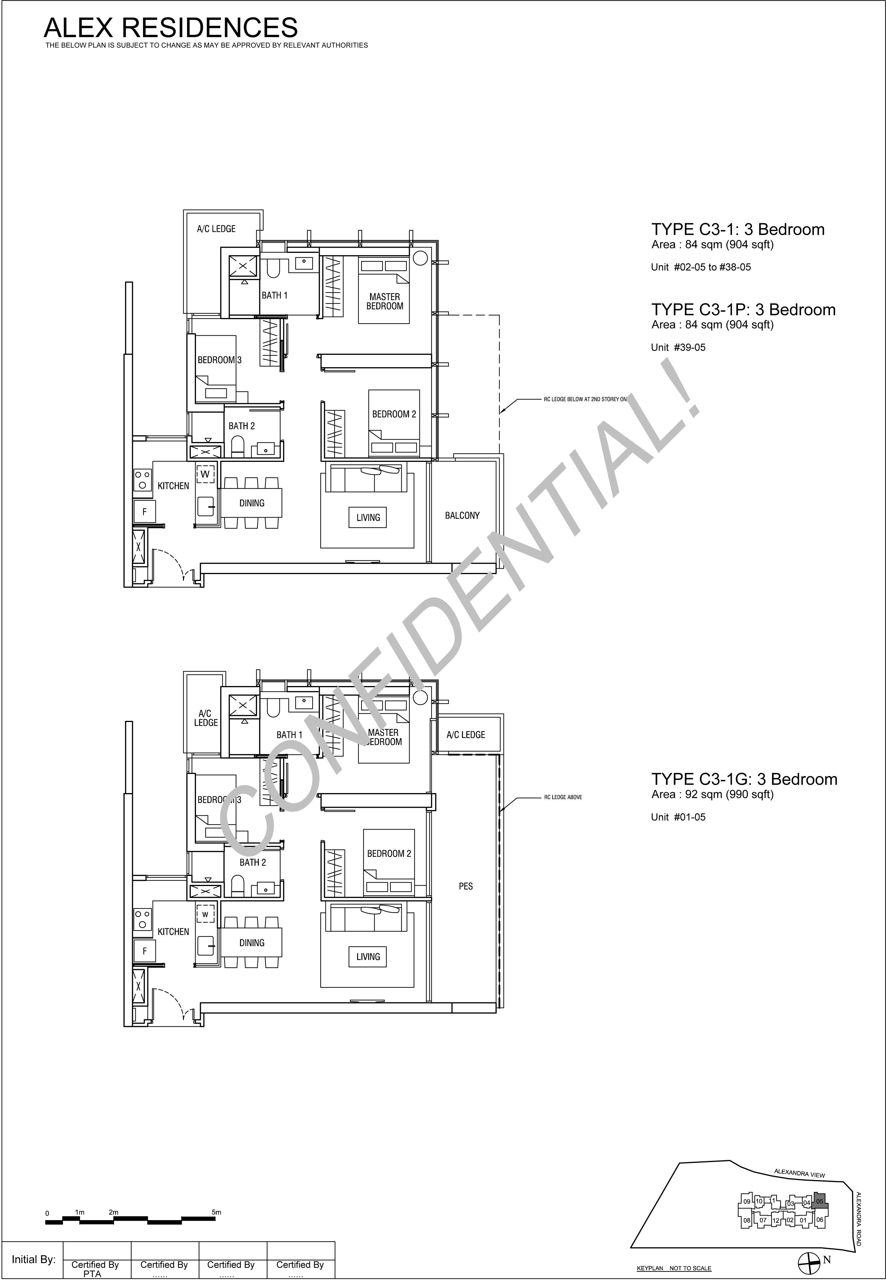 TYPE-C3-3-Bedroom