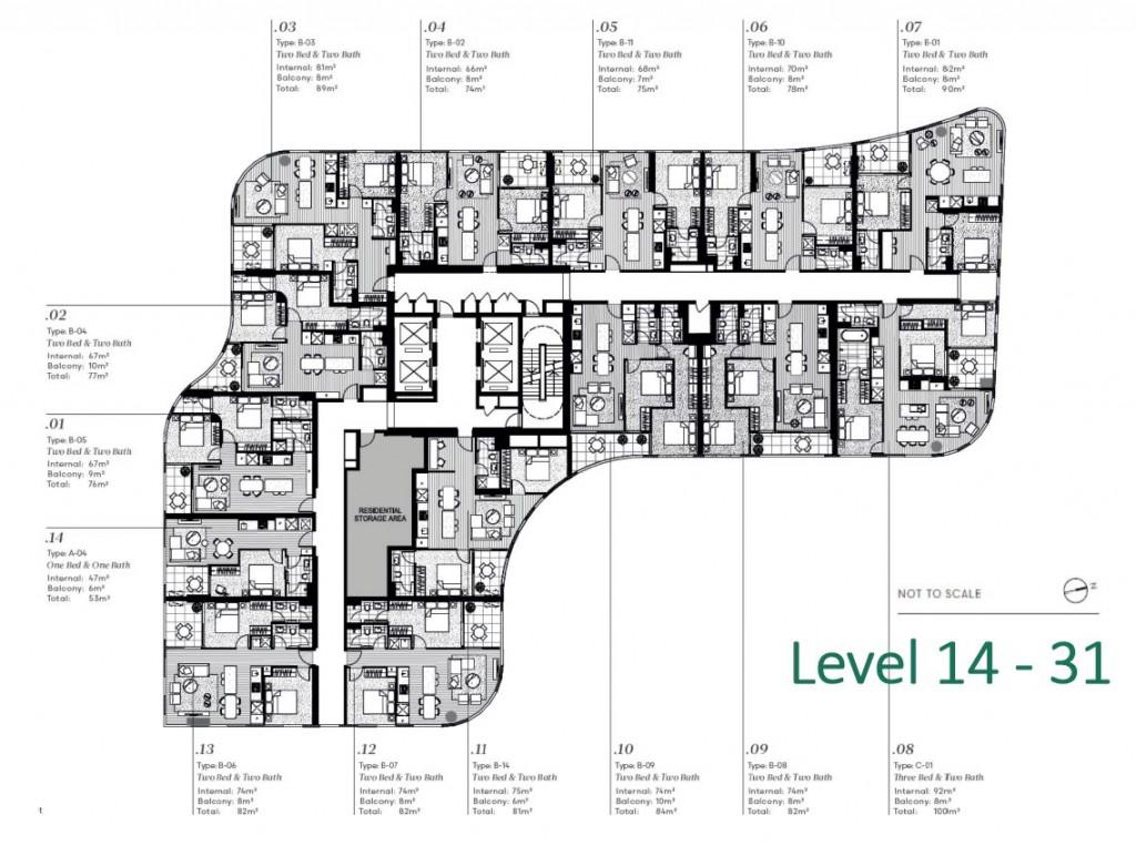 level 14-31