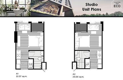 Studio Unit Plans