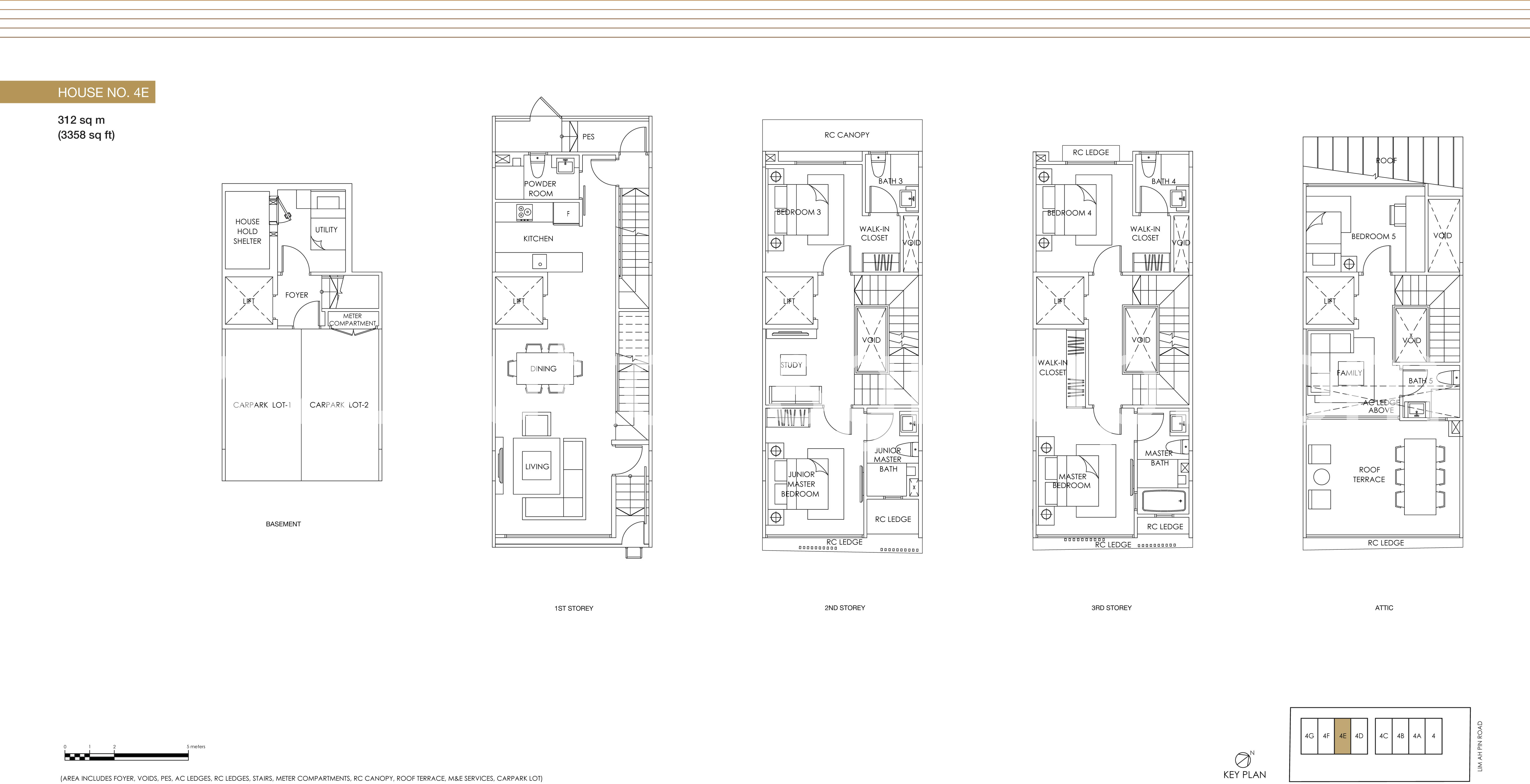 House no. 4E