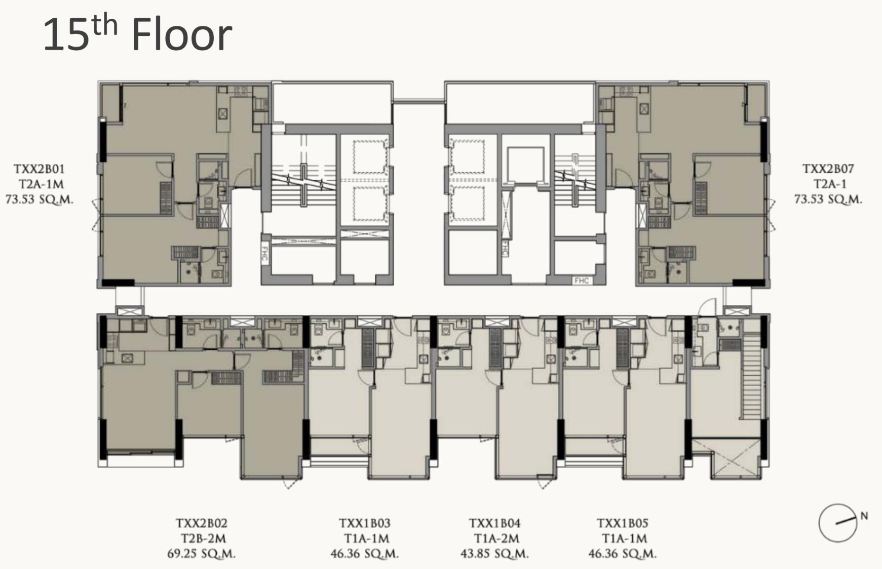 28 Chidlom Floorplan 15