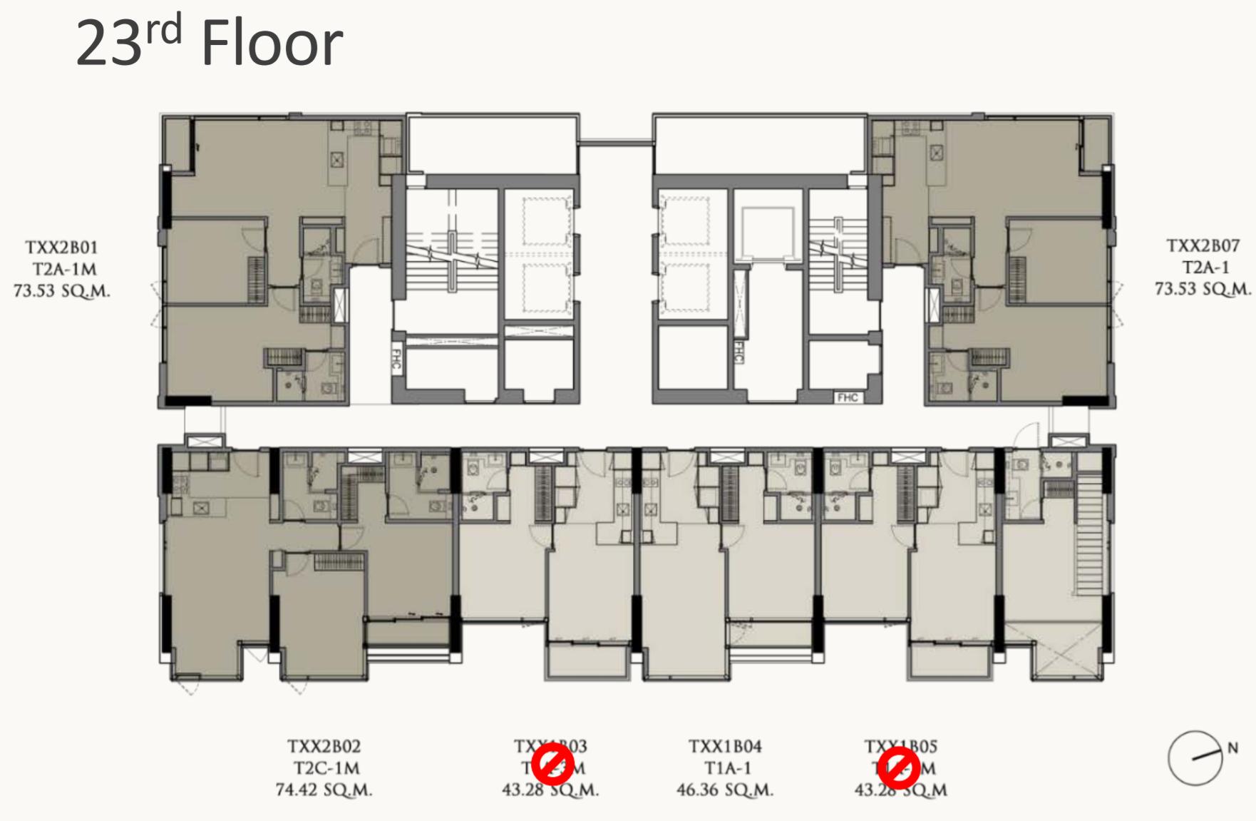 28 Chidlom Floorplan 23