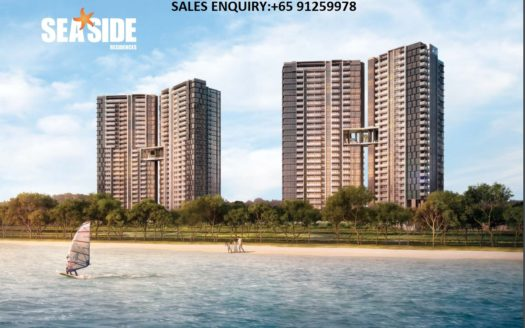 Seaside residence front cover showflat
