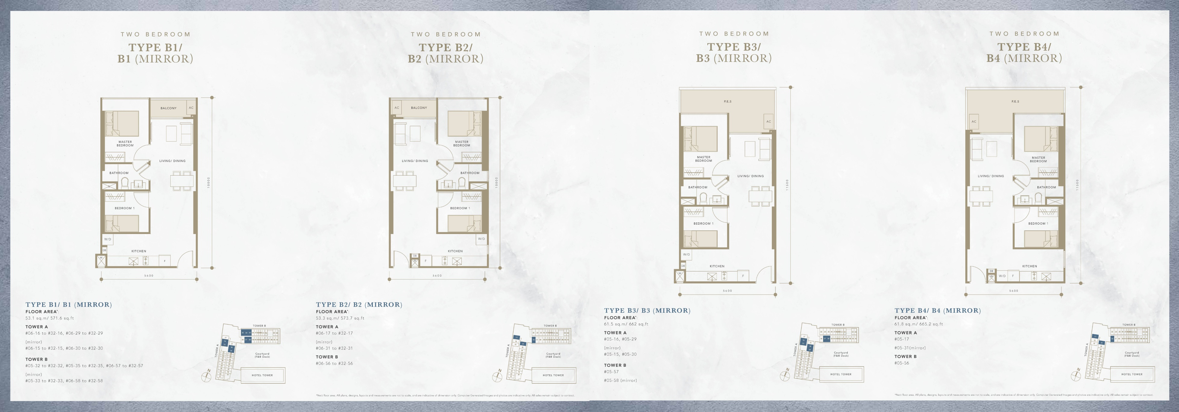 Oxley Convention City Residential 2 Bedroom