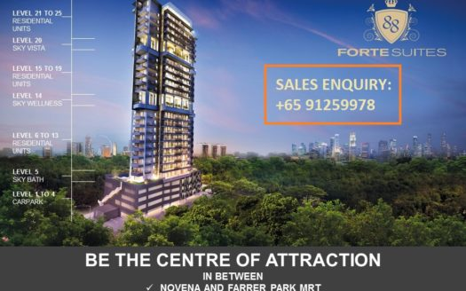 Forte Suites Novena Freehold Condo Exclusive Architechture