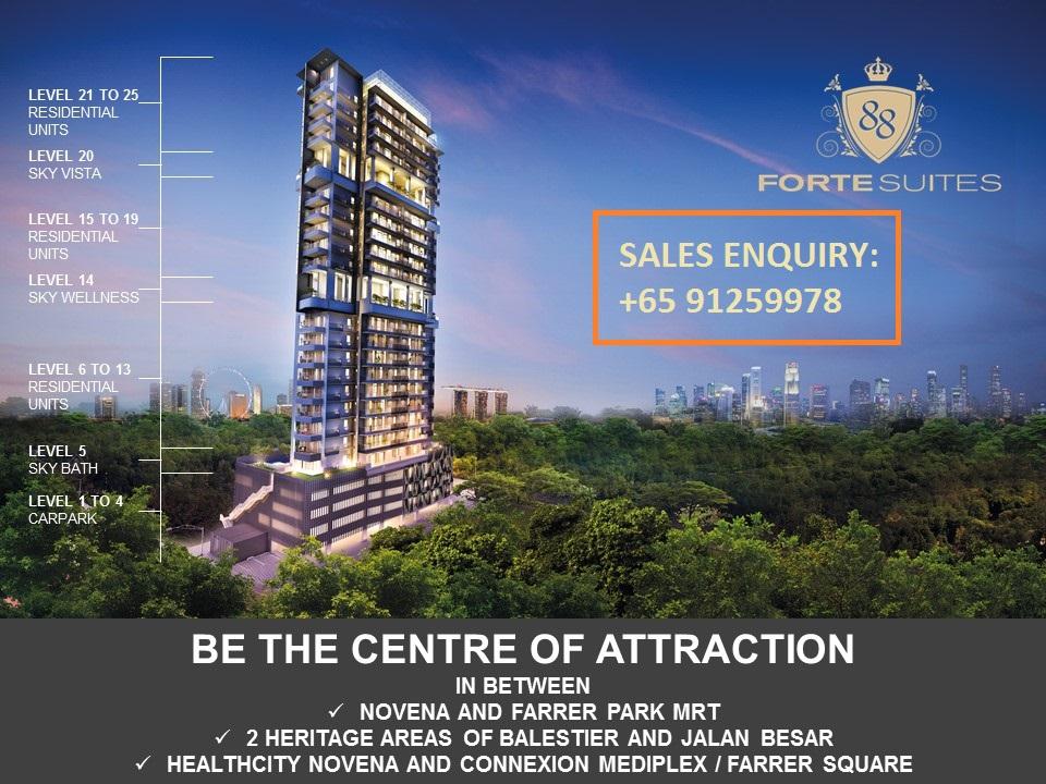 Forte Suites Novena Freehold Condo Exclusive Architechture