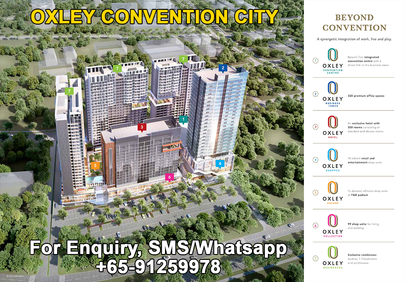 Oxley Convention City Fully Integrated
