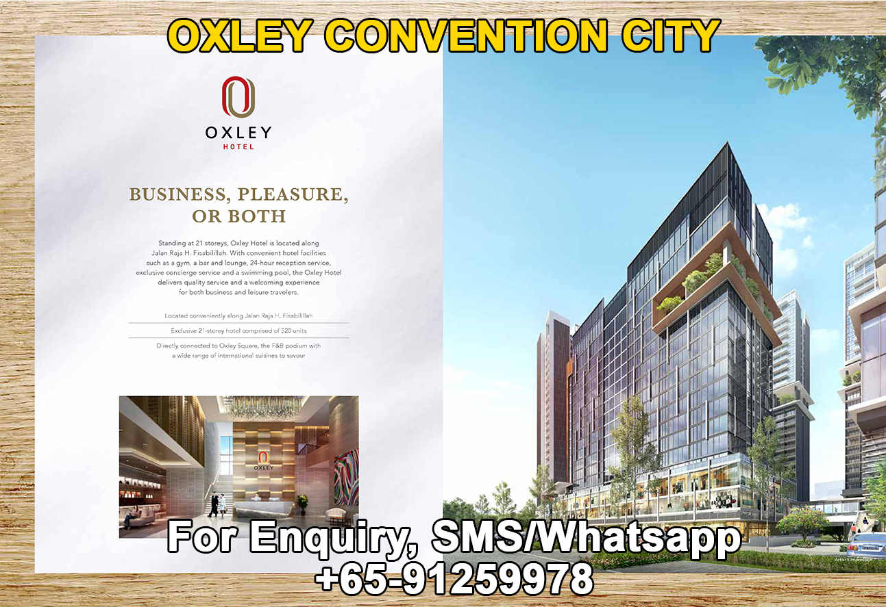 Oxley Convention City Hotel Spaces