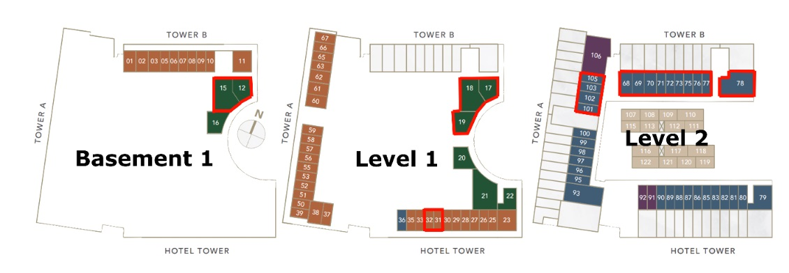 Oxley Convention City Shop Unit Site Plan