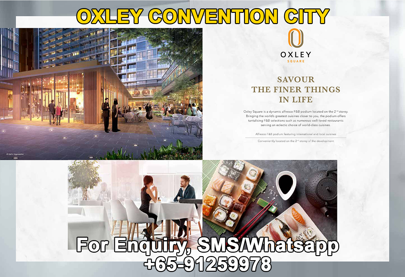 Oxley Convention City Square Podium