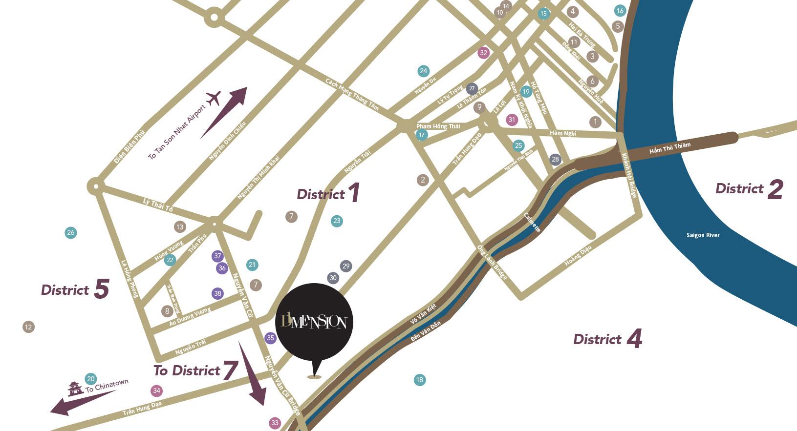 D1mension location