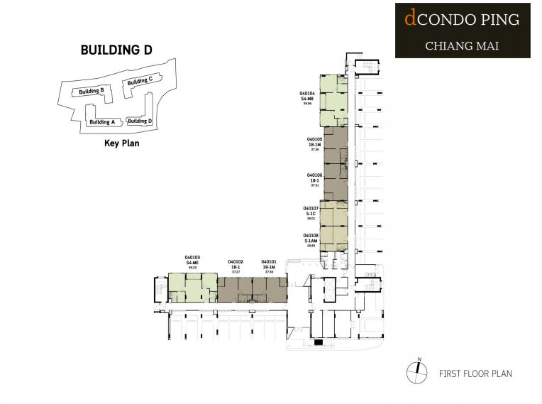 dCondo Ping First Floor Plan