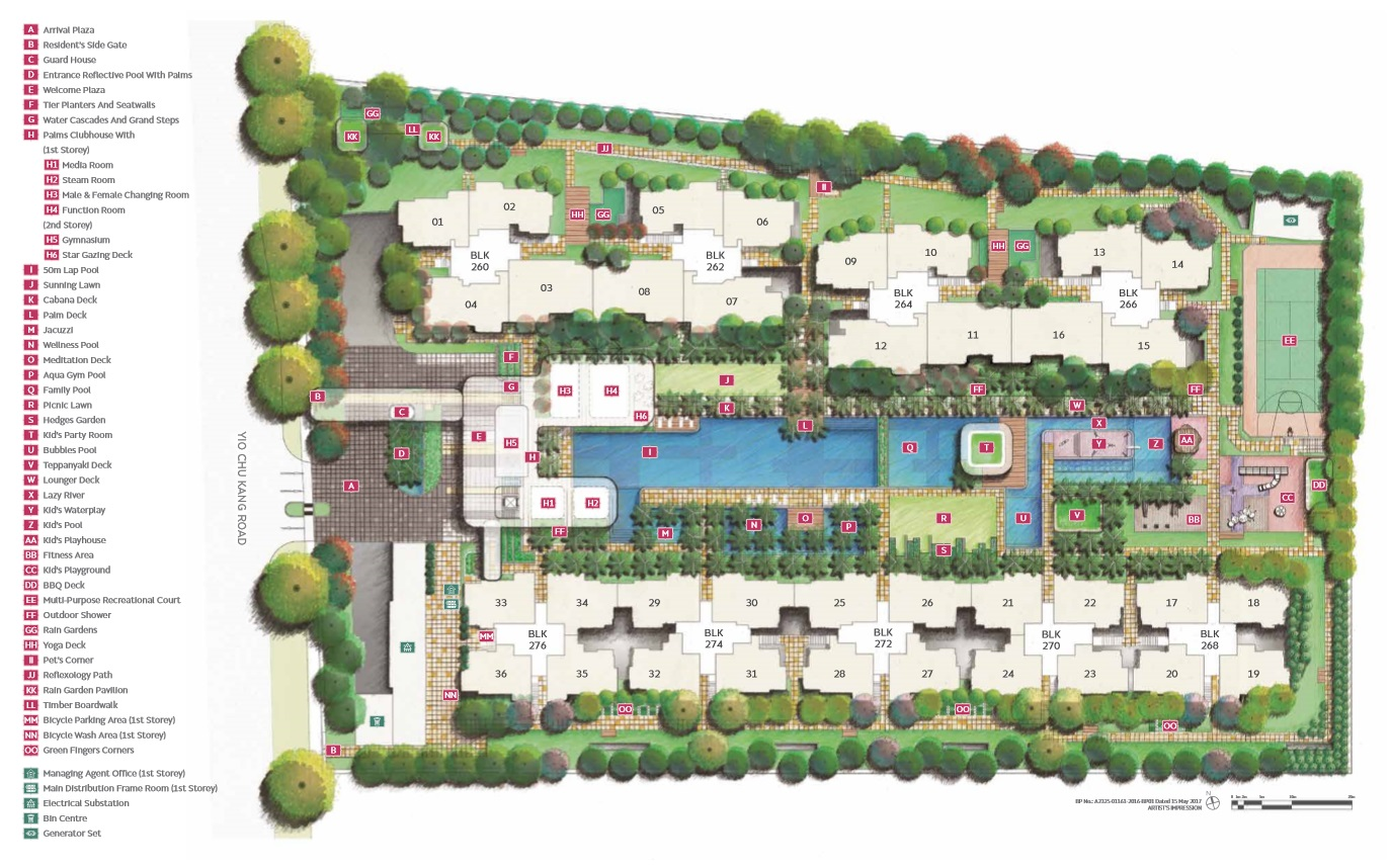 Hundred Palm Residences Siteplan