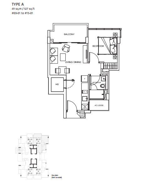 City Suites : TYPE A