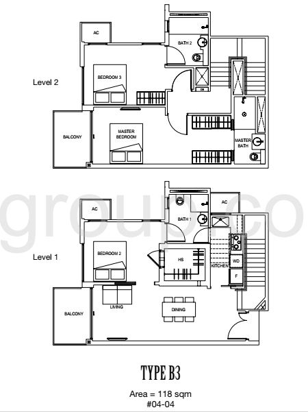 Carpmael 38 Floor Plan Type B3