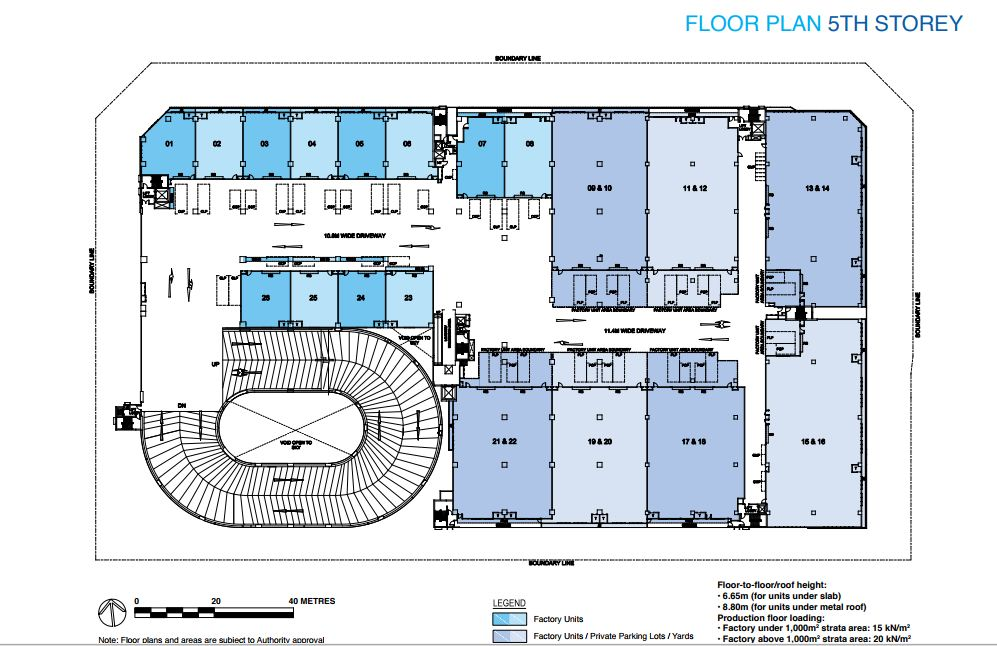 Floor Plan 5th Storey
