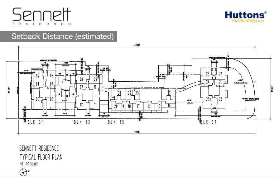 Sennett Residences Typical Floor Plan