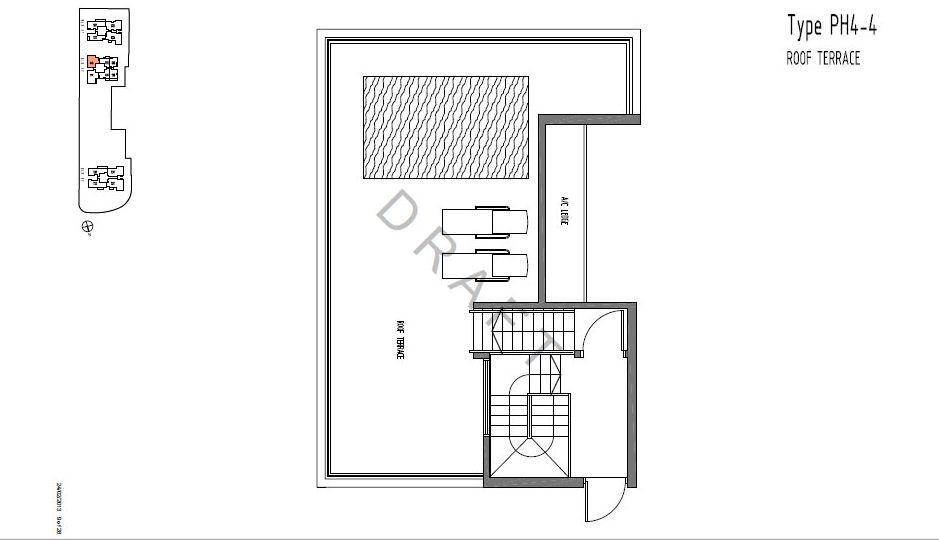 TYPE PH4-4 Roof Terrace
