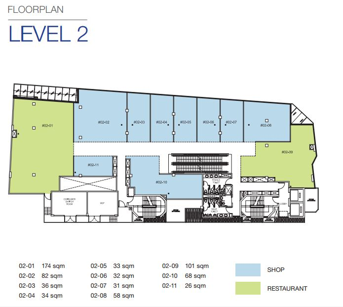 Floor Plan Level 2