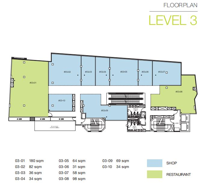 Floor Plan Level 3