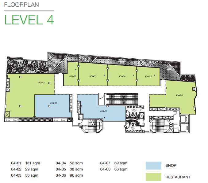 Floor Plan Level 4
