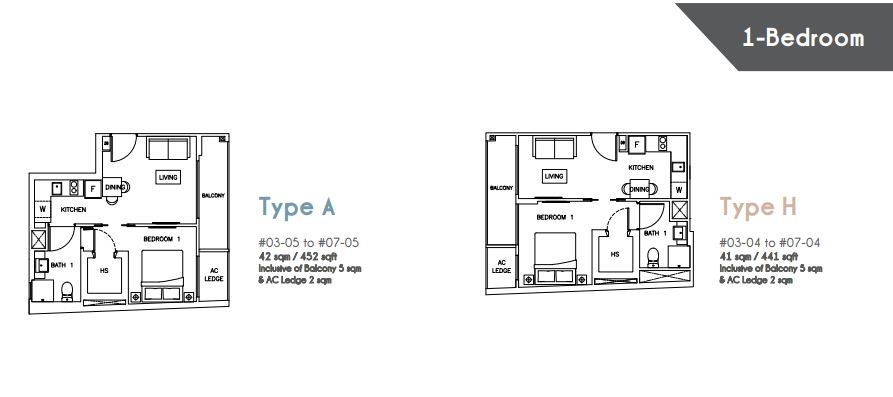 Floor Plan Type A Type H