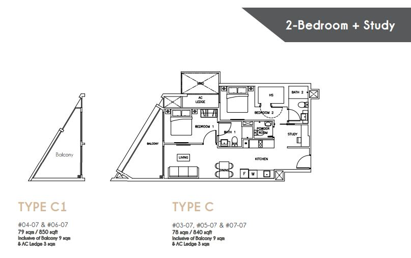 Floor Plan Type C C1