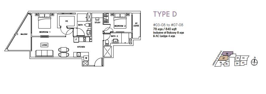 Floor Plan Type D
