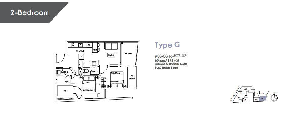 Floor Plan Type G