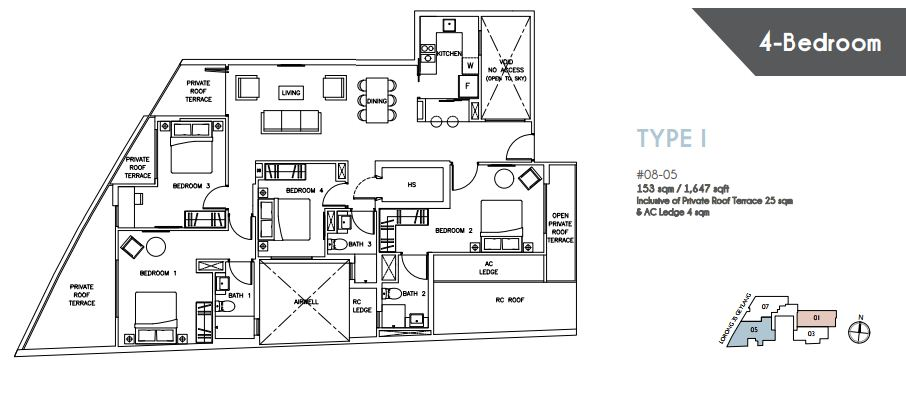 Floor Plan Type I