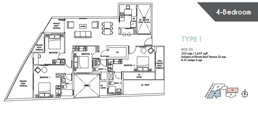 Floor Plan Type I