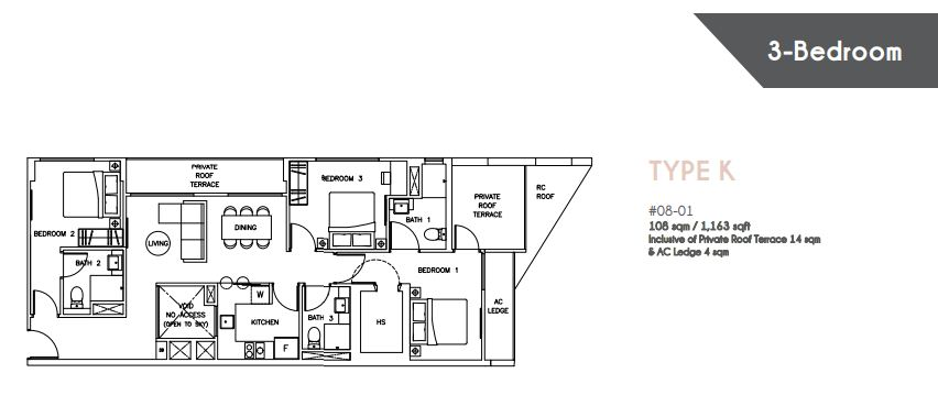 Floor Plan Type K