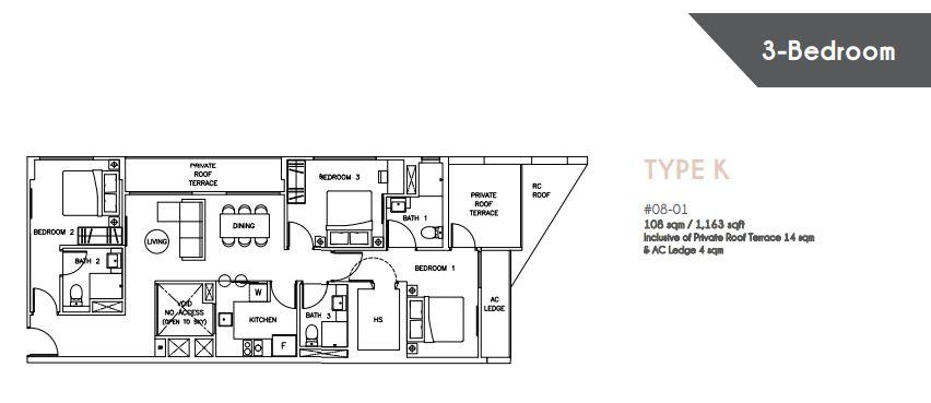 Floor Plan Type K