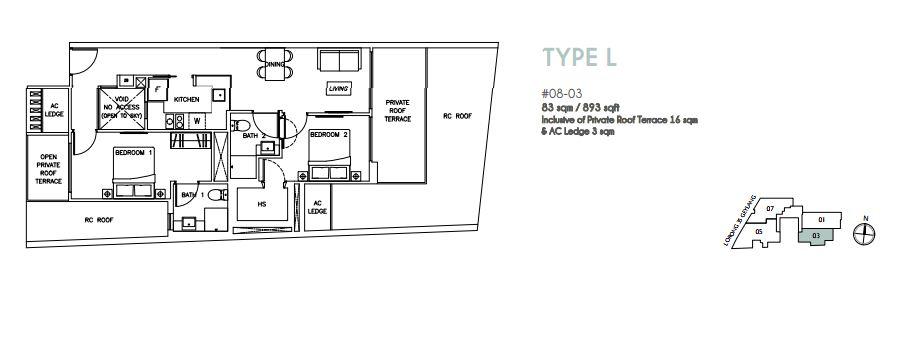 Floor Plan Type L