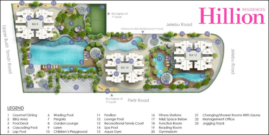 hillion-residences-site-plan