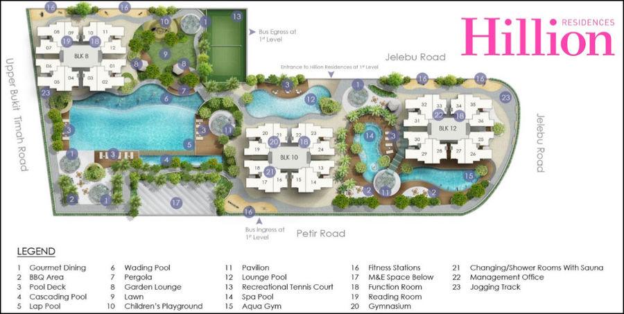 hillion-residences-site-plan