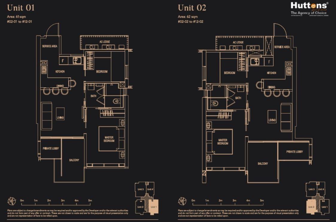 8 Hullet Floor Plan Unit1 & 2