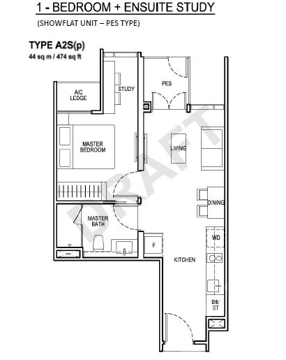 Floor Plan Type A2S