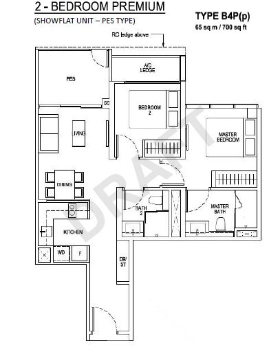 Floor Plan Type B4P