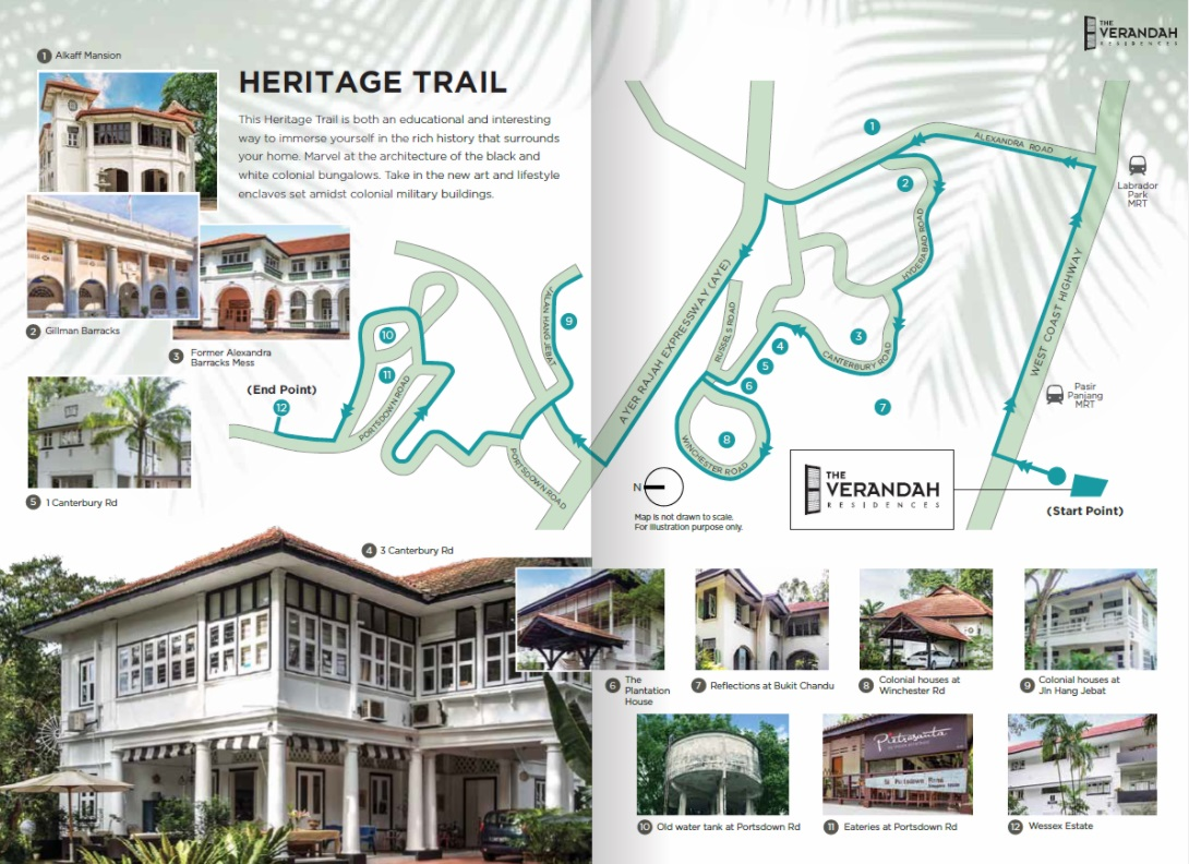 The Verandah Residences Heritage Trail
