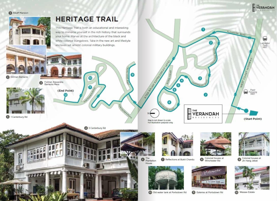 The Verandah Residences Heritage Trail