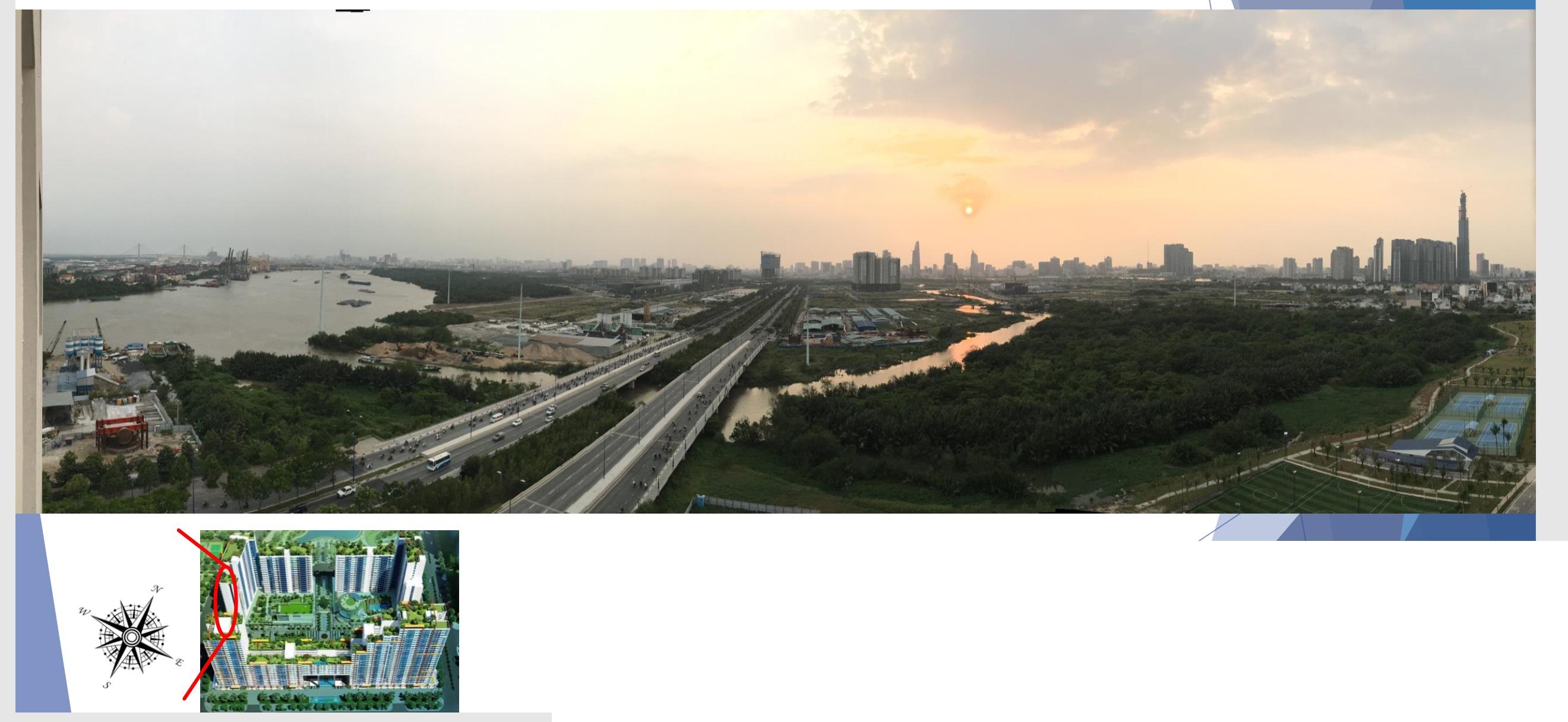 new city resort river view