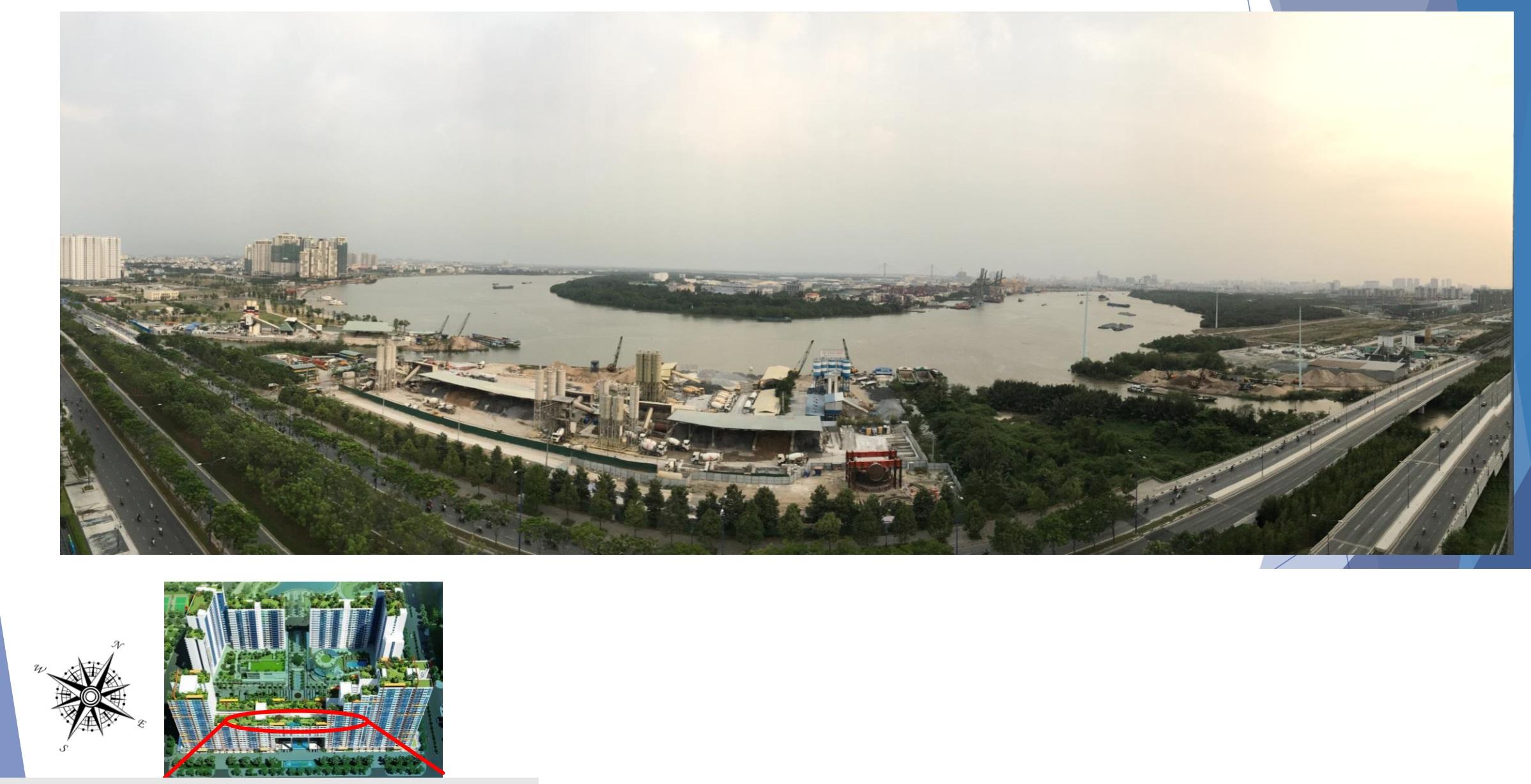new city saigon River