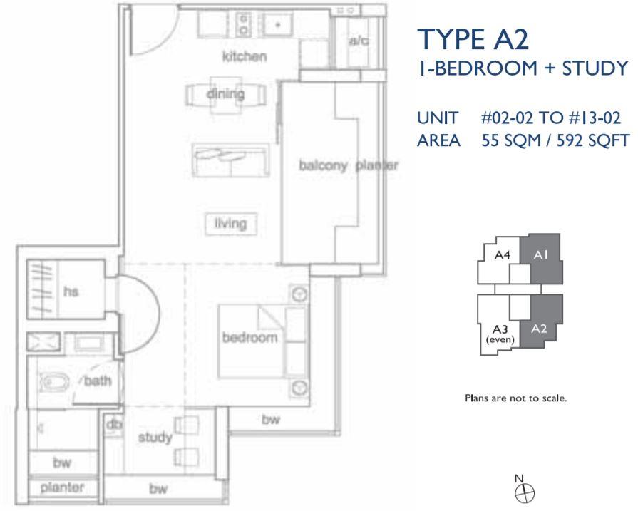 Floor Plan Type A2