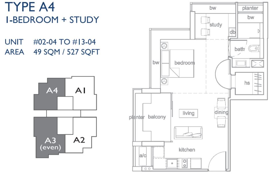 Floor Plan Type A4