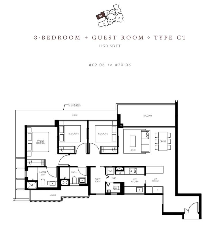 Floor Plan Type C1