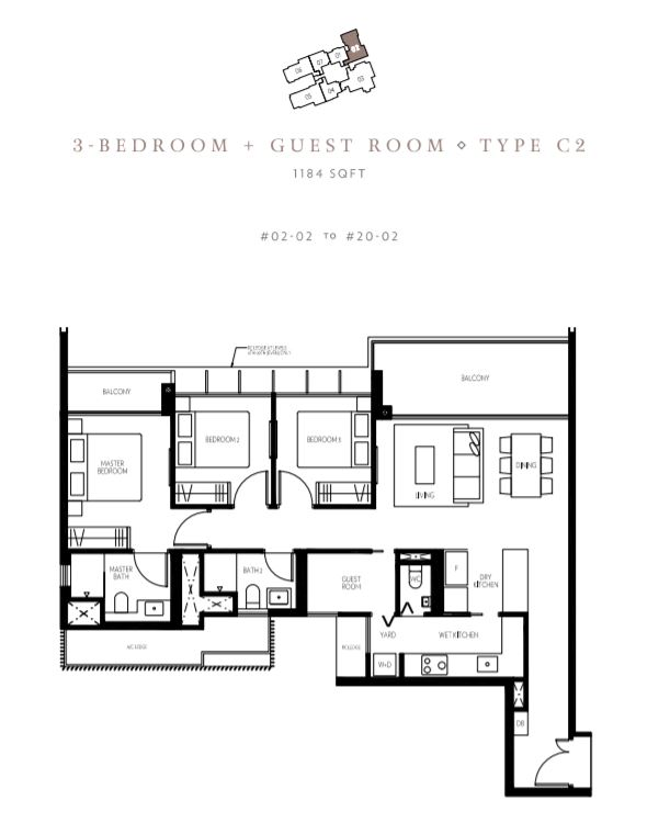 Floor Plan Type C2