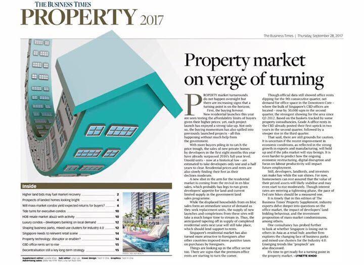 Singapore Property Upturn 2018